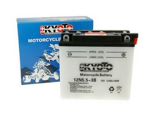 Batéria Kyoto 12V - 12N5,5-3B