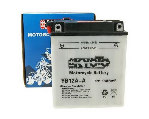 Batéria Kyoto 12V - YB12A-A / 12N12A-4A-1